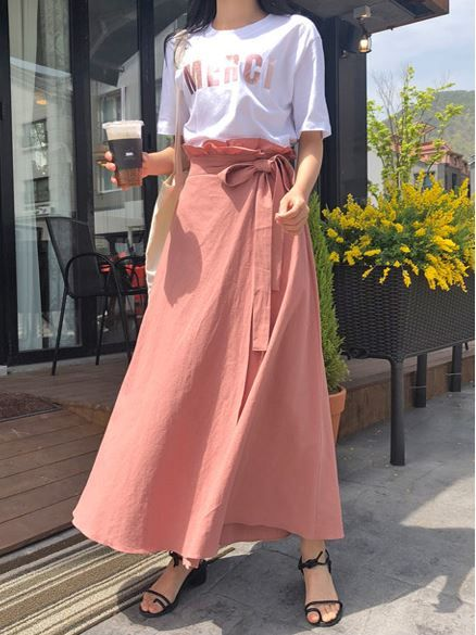 Check Out The Lastest Korean Clothes Fashion Style Trend High Quality Long Skirt By Makmaks Long Skirt Outfits Fashion Long Skirt