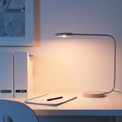 YPPERLIG Tischleuchte, LED hellgrau IKEA Deutschland in