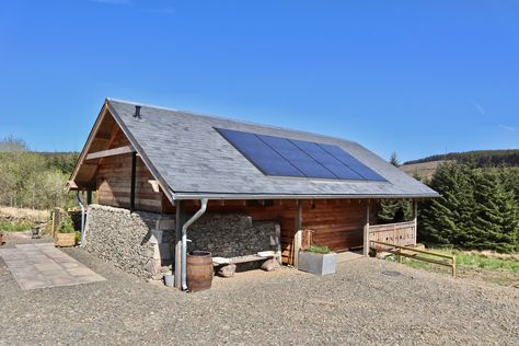 Alpnhaus An Alpine Chalet Retreat For Two In The Scottish Borders Chalet Alpine Chalet Outdoor Decor