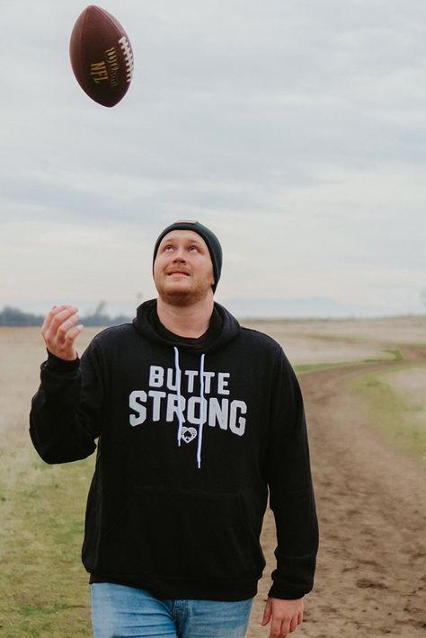Butte Strong Official Aaron Rodgers Hoodie - Medium