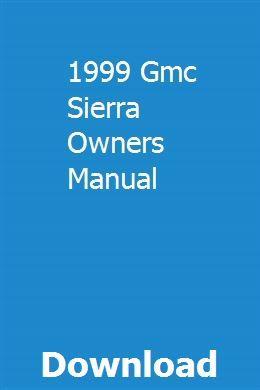 1999 Gmc Sierra Owners Manual Jeep Grand Jeep Grand Cherokee