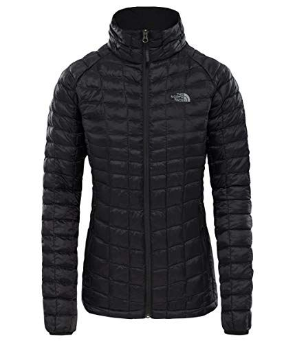 reputable site 10c8e 9a226 THE-NORTH-FACE-Damen-Thermoball-Sportjacke-Jacke-TNF-Black-S ...