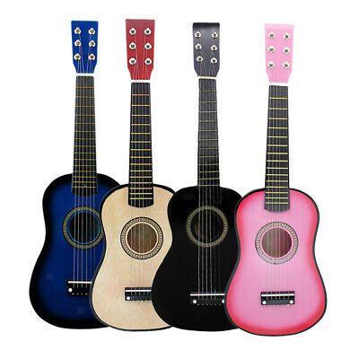 Miniature Wooden 6 Strings Acoustic Guitar Music Lovers In 2020 Acoustic Guitar Music Guitar Kids Acoustic Guitar