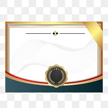 Honor Certificate Border Border Clipart Certificate Honor Certificate Png And Vector With Transparent Background For Free Download Certificate Border Certificate Background Certificate Design Template