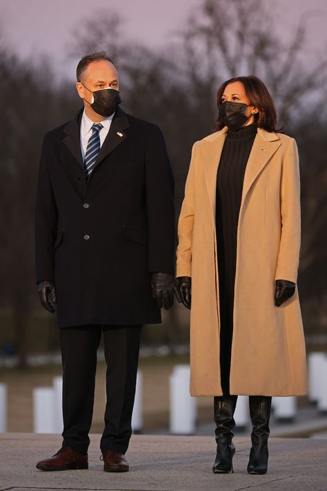 On the eve of an historic inauguration, President-elect Joe Biden and Dr Jill Biden, along with Vice President-elect Kamala Harris and her husband Doug Emhoff gathered on the National Mall in Washington DC for a Covid Memorial honouring and remembering the more than 400,000 American lives lost to the pandemic so far.