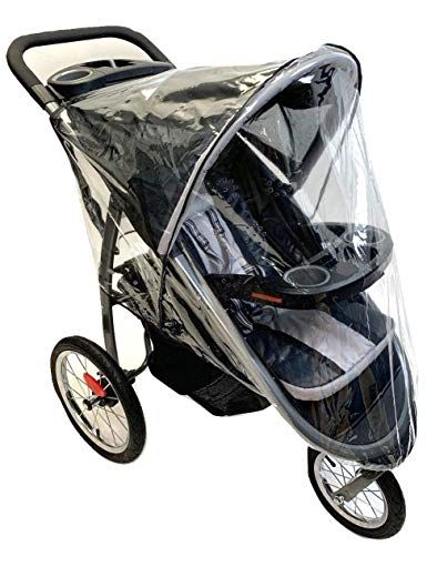 Sashas Rain and Wind Cover for Baby Trend Expedition Double Jogger