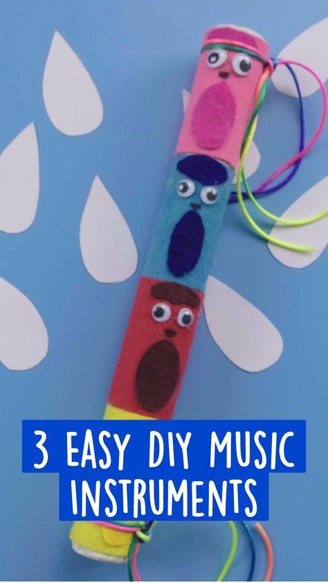 3 Easy DIY Music Instruments