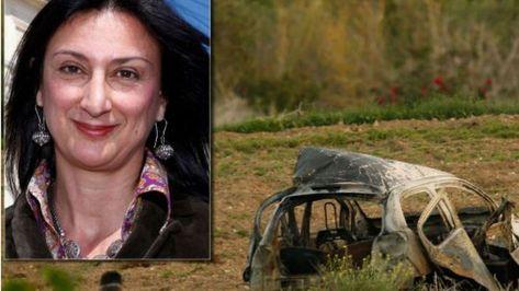 Daphne Caruana Galizia: Three men charged over murder of journalist in Malta