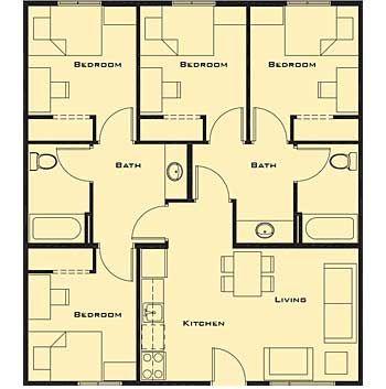 d260182f9f0aac605432dedb5e8fad6e four bedroom house plans tinyhouses