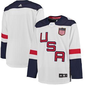 Us Hockey Adidas World Cup Of Hockey 2016 Premier Jersey White Hockey World Cup Jersey Hockey