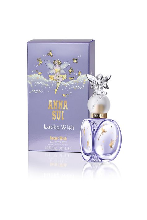 Discover Anna Sui Lucky Wish Eau de Toilette Spray from Fragrance Direct. Shop top brand name fragrances and skin care products at a great price. Anna Sui Perfume, Fragrance Direct, Cosmetics & Perfume, Beautiful Perfume, Perfume Bottles, Web Design, Makeup, Purple, Perfume Collection