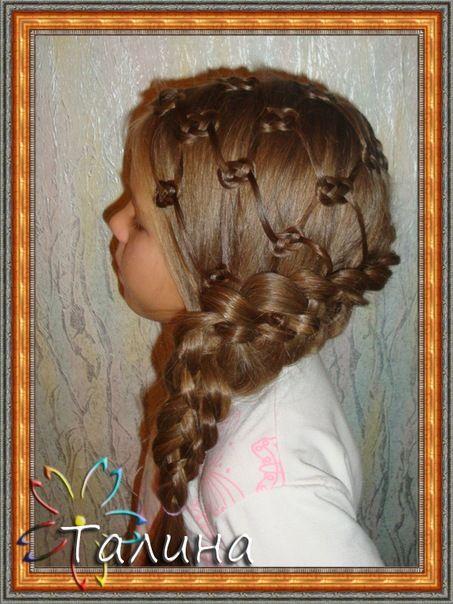Pretzel hair knots!