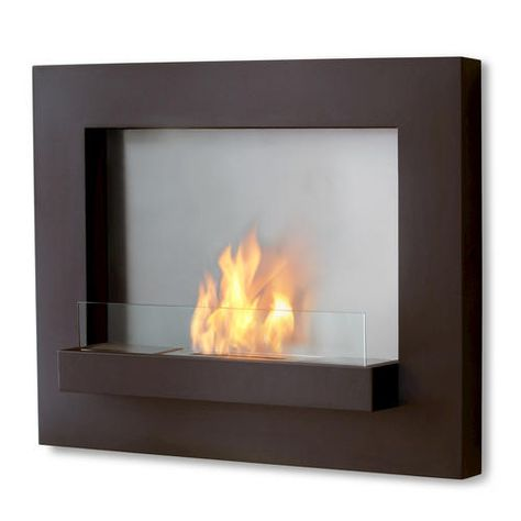 Real Flame Edgerton Wall Ventless Gel Fireplace At Menards For The