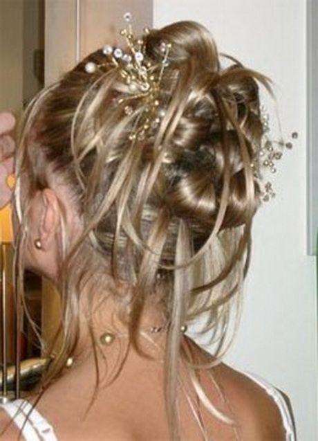 Chignon de mariage cheveux mi long. Visiter. juillet 2019