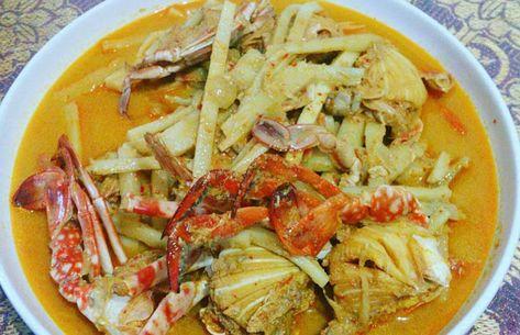 Resep Masakan Kepiting Rebung Kuah Santan Masakan Resep Masakan Masakan Indonesia