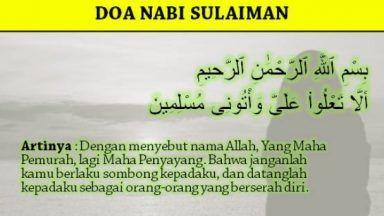 Ingin Kaya Raya Seperti Nabi Sulaiman, Begini Amalan Doa Wiridnya