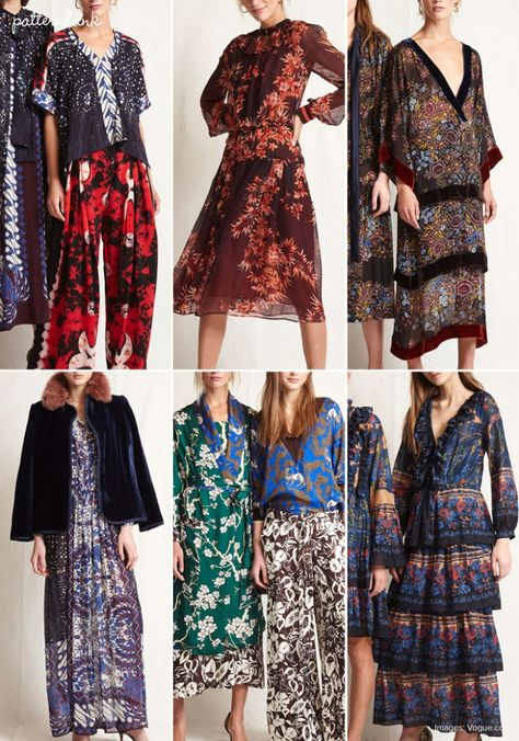 Warm - Fall 2017 - RTW - New York Fashion Week - Print & Pattern Highlight | Patternbank