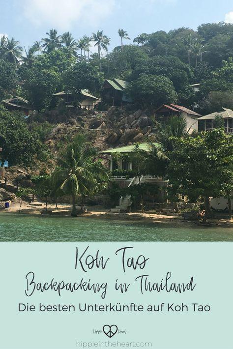 Koh Tao - Die Schildkröten Insel. Backpacking in Thailand. Alle Reisetipps zu Koh Tao. Unterkünfte auf Koh Tao. Von der Anreise über das richtige Hotel bis hin zu Koh Taos Stränden. #thailand #reisen #kohtao