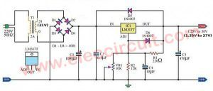 100 Power Supply Circuit Diagram With Pcb Eleccircuit Com