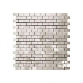 Spirited Metal Graffiato Muretto Brick 5 8x1 On A 12x12 Sheet Custom Tiles Tiles Online Metal