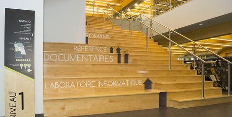 Signalisation Bibliothèque Paul-Mercier - TLA Architecture …
