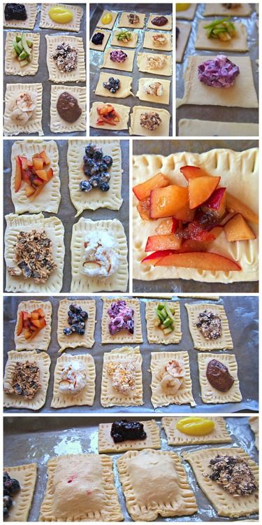 Light, homemade Poptarts with REAL FRUIT.