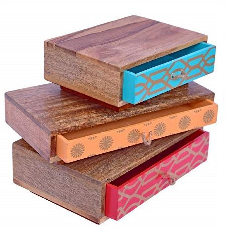The Trendy Wooden Boxes Can Be The Stylish Way To Keep Your Essentials Take Your Pick Https B Stationery Supplies Handmade Stationery Wholesale Stationery