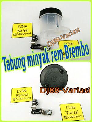 Tabung Master Rem Brembo Bracket Tabung Minyak Rem Kitaco Universal Big Minyak