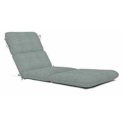 Indoor Outdoor Sunbrella Chaise Lounge Cushion Fabric Cast Mist