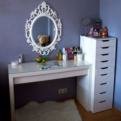 картинки по запросу туалетный столик икеа ремонт Pinterest