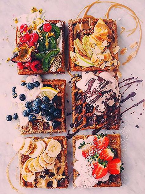 #waffles #wafflerecipes #waffleiron #postres #dessertfoodrecipes #desserts #breakfast #antojo