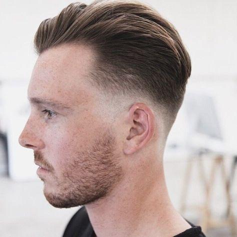 men hairstyle medium undercut fade haircut Pinterest
