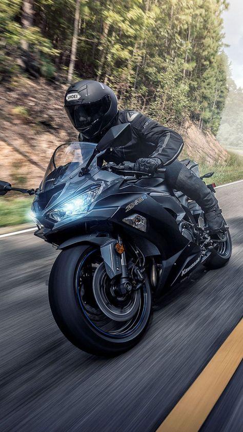 Kawasaki Ninja ZX 2019 Ultra HD Mobile Wallpaper - Cars and motorcycles - Motorrad Kawasaki Zx6r, Kawasaki Motorcycles, Cool Motorcycles, Kawasaki Vulcan, Triumph Motorcycles, Moto Ninja, Ninja Motorcycle, Ninja Bike, Moto Bike