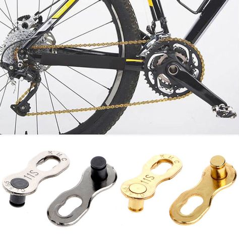 1 49 Aud 2pcs Bike Bicycle Mtb Chain Master Link Joint Clip