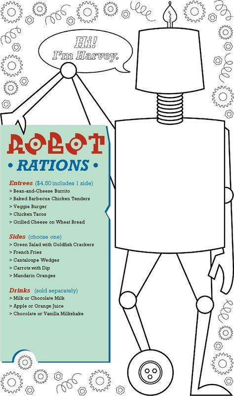 kids menu Kids Menu Templates Pinterest Kids menu and Menu - kids menu templates
