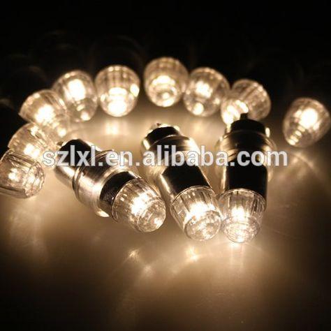 Blanc Chaud Led Mini Ampoule Led Mini Light Party Led Ballon