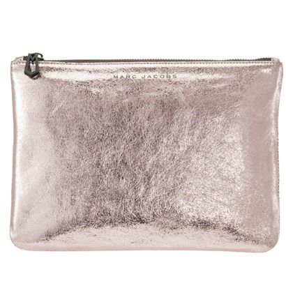 rose gold leather pouch   marc jacobs for target