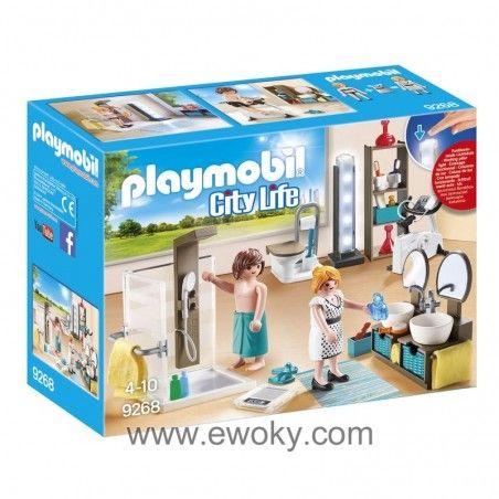 Bano Playmobil City Life Juguetes Para Ninas Playmobil Y Juguetes