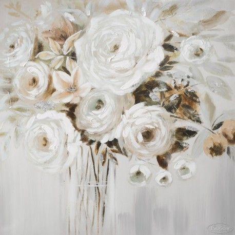 Obraz Daga 1 60 X 60 Eurofirany Magia Wnetrz Rose Bouquet Flower Art Floral Wreath