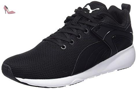 chaussure puma homme noir et blanc