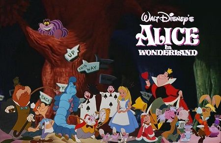 Image Result For Animated Alice In Wonderland Cast Alice In Wonderland Characters Walt Disney Cartoons Alice In Wonderland Cartoon