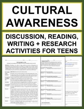 Cultural Awareness and Empathy Activities for Teens