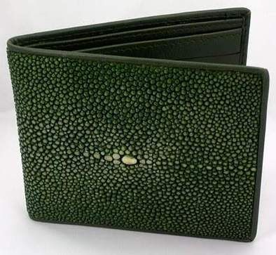 Authentic Genuine Alligator Skin Leather Bifold Wallet for Men Handmade Cognac