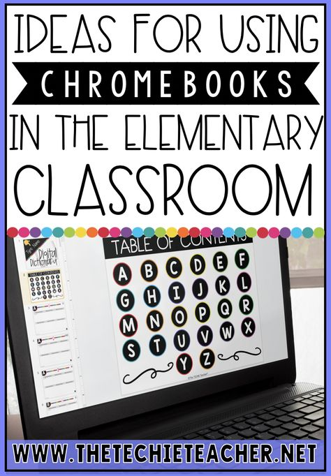 Helpful Ideas for 1:1 Chromebook Classrooms