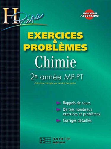 Exercices Problemes Chimie 2e Annee Mp Pt H Prepa Chimie Pdf Gratuit Telecharger Epub Gratuit Books France 1 Ebooks