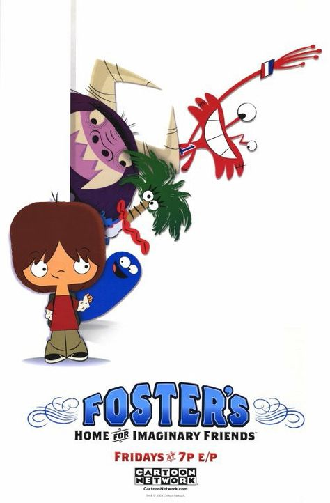 Foster's Home for Imaginary Friends 11x17 TV Poster (2004)