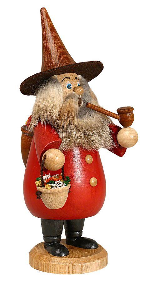 Tradtionelles deutsches Weihnachtswichtel Räuchermännchen