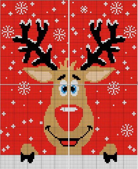 Grille Jacquard Pour Tricoter Ton Pull Moche De Noël Tu