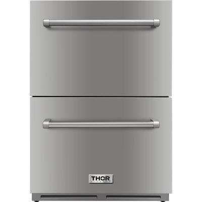 Drawer Refrigerators Refrigerators The Home Depot In 2020 Refrigerator Drawers Outdoor Refrigerator Refrigerator