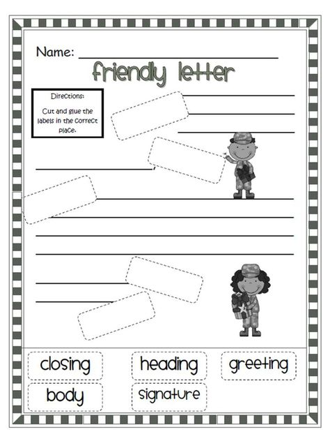 Friendly Letter Writing Pinterest Friendly letter, Teacher and - copy www.letter writing format